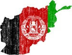 Afghanistan Flag And Map