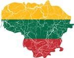 Lithuania Flag And Map