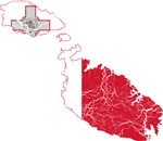 Malta Flag And Map