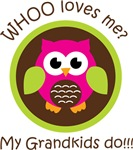 Grandkids Owl
