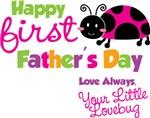 Ladybug 1st Father's Day