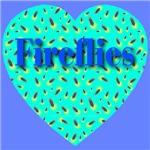 Fireflies Exotic Jade Heart