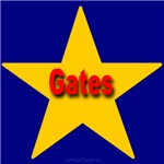 Gates Star Monogram