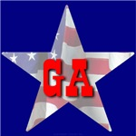 GA Patriotic State Star