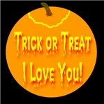 Trick or Treat I Love You! Jack-o-lantern