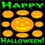 9 Happy Halloween Jack-o-lanterns