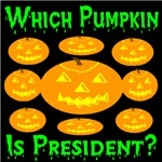 Which Pumpkin Is President?