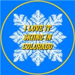 I Love It Skiing In Colorado