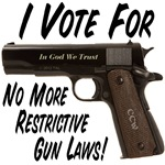 No More Restrictive Gun Laws