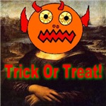 Mona Lisa Trick Or Treat
