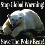 Stop Global Warming Save The Polar Bear!