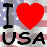 AmeriArts USA Flags, Hearts & Patriotic Slogans