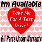 Take Me For A Test Drive All Parts Under Warranty