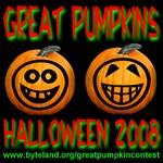 Great Pumpkins Halloween 2008