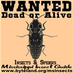 Mississippi Insect Guide Wanted Poster
