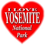 I Love Yosemite National Park