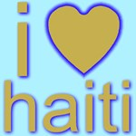 i (heart) haiti  Golden Heart