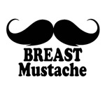 Breast Mustache