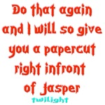 Funny Twilight Papercut