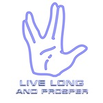 Star Trek  vulcan salute