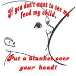 Put a blanket over YOUR head!