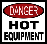 Danger Hot Equipment