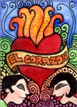 Loteria - El Corazon / The Heart