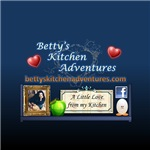 Betty's Kitchen Adventures Small Square Banner
