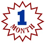 One Month Birthday