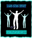 lads stag night last night of freedom art illustra
