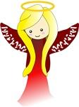 Cute Angel in Red