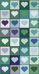 Blue Green Hearts