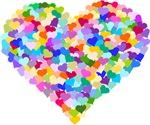 Rainbow Heart of Hearts