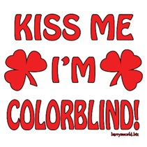 Kiss Me I'm Colorblind
