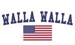 Walla Walla US Flag