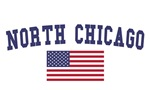 North Chicago US Flag