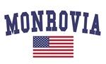 Monrovia US Flag