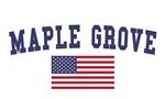 Maple Grove US Flag