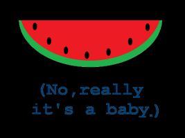 Watermelon Maternity Shirts
