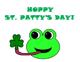 HOPPY ST. PATRICK'S DAY!