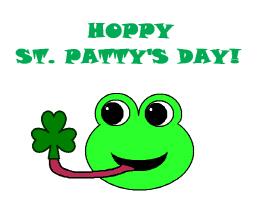 HOPPY ST. PATRICK'S DAY!