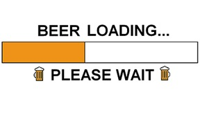 BEER LOADING...