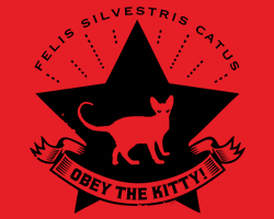 Obey the Kitty Star Icon