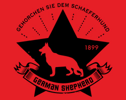 German Shepherd Star Icon
