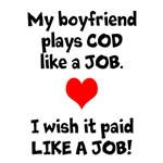 Boyfriend COD like a JOB