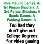 Gaming College Degrees
