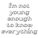 Not Young Enough