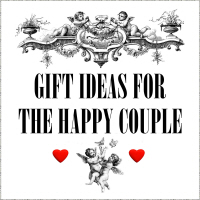 GIFTS FOR THE HAPPY COUPLE