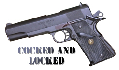 1911 Cocked & Locked