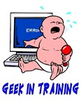 Geek In Training Funny Geek T-Shirt